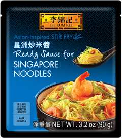 Ready Sauce for Singapore Noodles, 3.2 oz (90 g), Sauce Pack