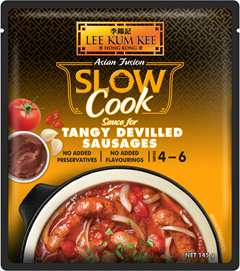 Ready Sauce Slow Cook Sauce for Tangy Devilled Sausages_145g