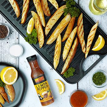 Recipe Air-Fryer Lemon Pepper Potate Wedges S
