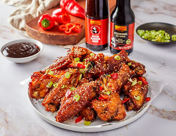 Recipe Asian Zing Wingz