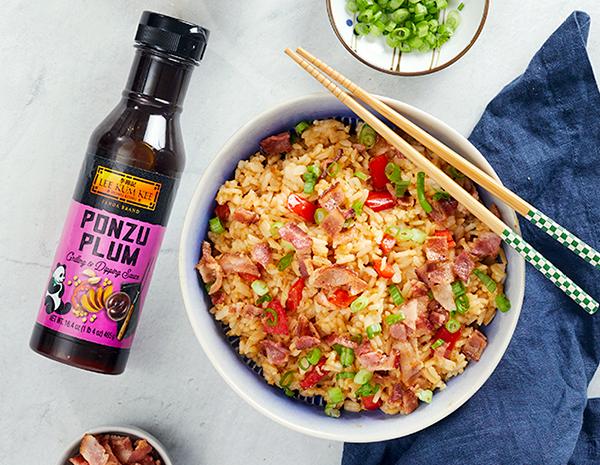 Recipe Bacon Ponzu Plum Fried Rice