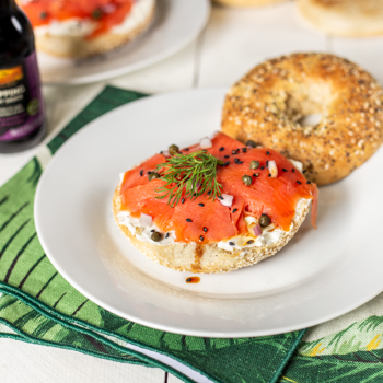 Recipe Bagel & Lox S