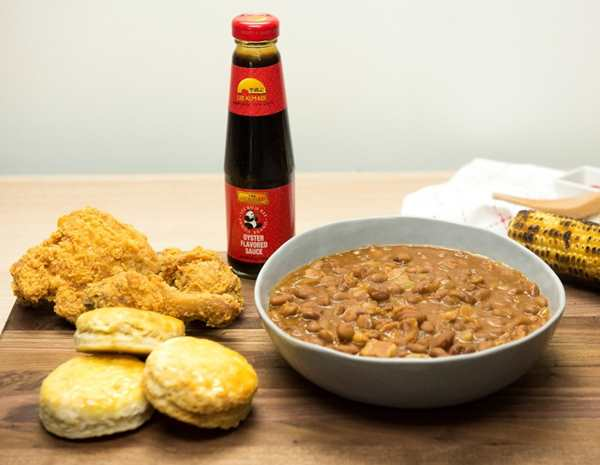 Recipe Baked Beans with Panda Brand Oyster Sauce