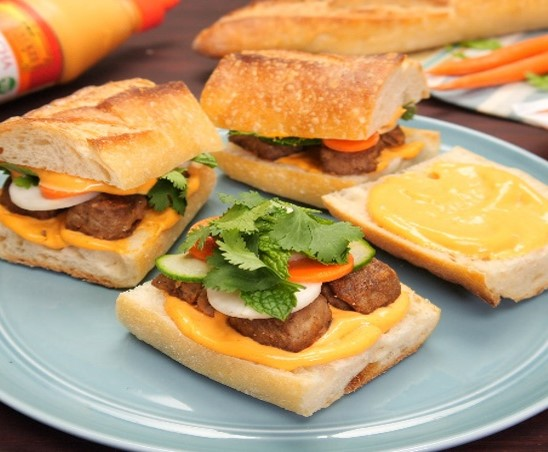 Recipe Banh Mi Meatball Sliders S