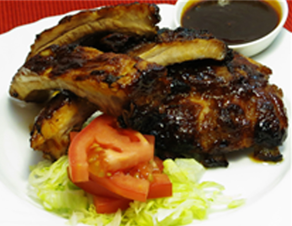 Recipe Barbecue Pork Ribs with Hoisin Sauce