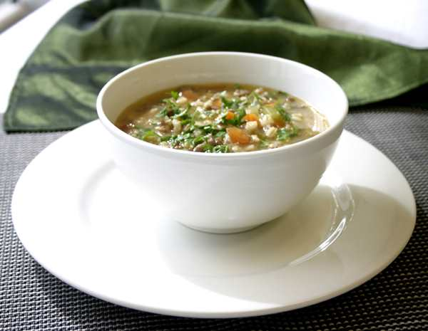 Recipe Beef and Vegetable Barley Soup