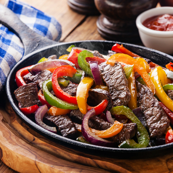 Recipe Beef Fajitas with Hoisin Sauce