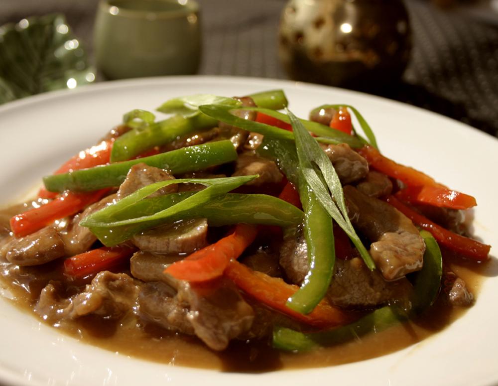 Recipe Beef Pepper Steak