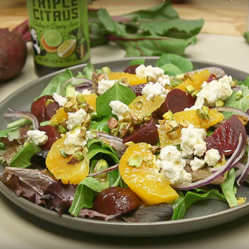 Recipe Beet And Goat Cheese Salad With Triple Citrus S