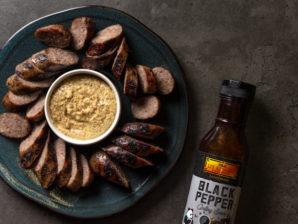 Black Pepper Grilled Bratwurst