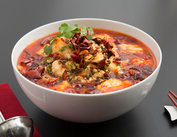 Recipe Boiled Fish Fillets in Hot Spicy Soup