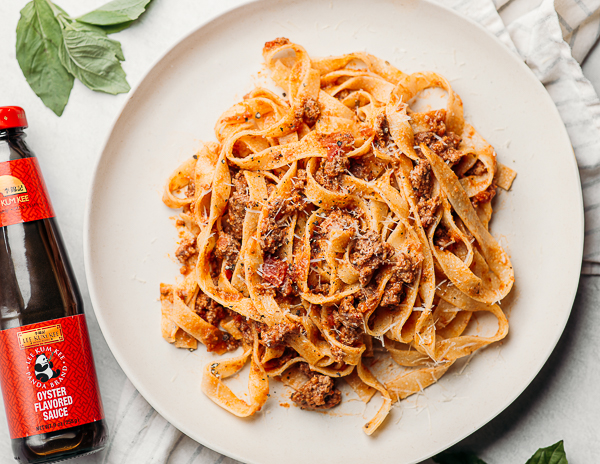 Recipe Bolognese with Pappardelle