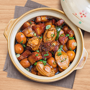 Recipe Braised Abalone and Pork Belly S