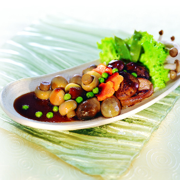 Recipe Braised Assorted Mushrooms with oyster Flavored Sauce S