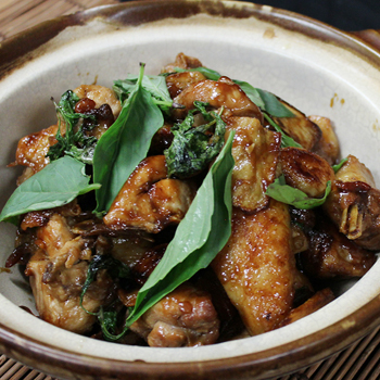 Recipe Braised Chicken with Oyster Flavored Sauce (3 Cup Chicken) S