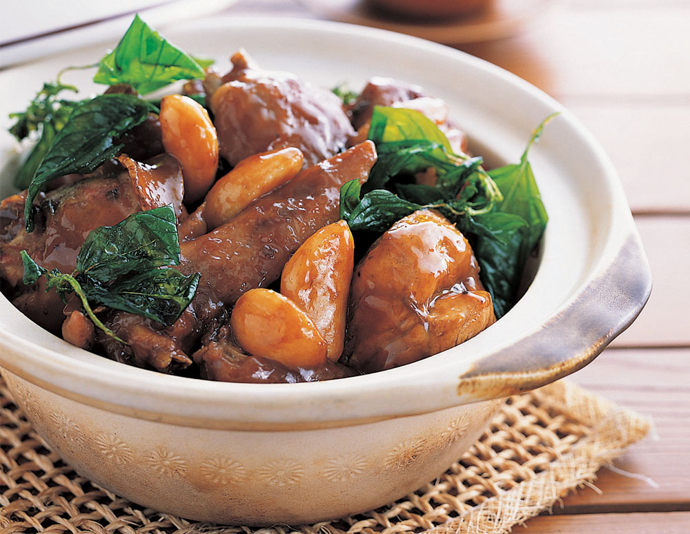 Recipe Braised Chicken with Oyster Sauce