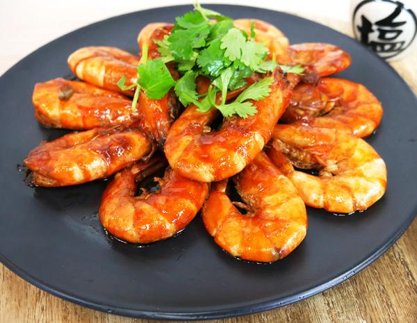 Recipe Braised Shrimp