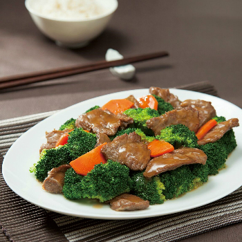 Recipe Broccoli Beef with Oyster Sauce S