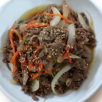韓式炒牛肉片