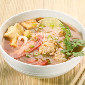 Recipe Bun Rieu Meat Ball Soup with Noodle S