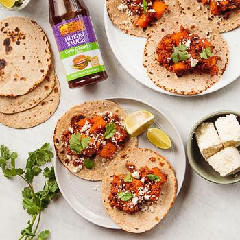 Recipe Butternut Squash & Soyrizo Tacos S