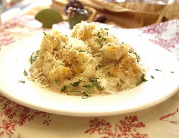 Recipe Cauliflower Casserole with Panda Brand Oyster Flavored Sauce