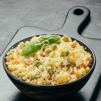 花椰菜炒飯