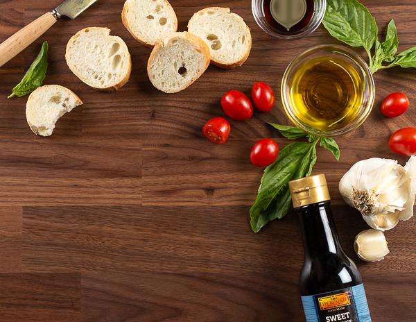 Recipe Cherry Tomato Brushetta