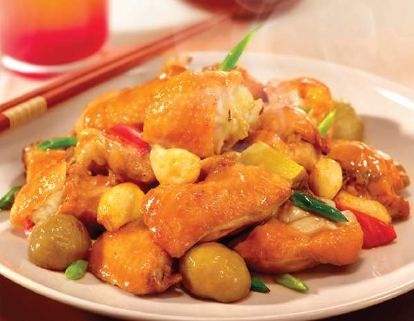 Recipe Chestnut Chicken