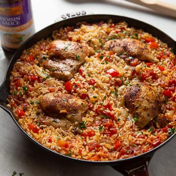 Recipe Chicken & Rice Skillet S
