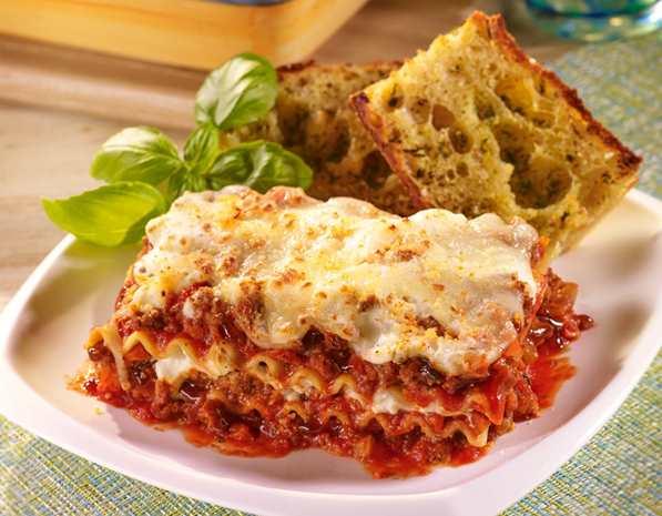 Recipe Beef and Mushroom Lasagna