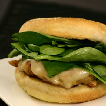 Recipe Chicken and Basil Burger S