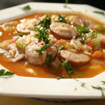 Recipe Chicken Jambalaya with Chili Garlic Sauce S