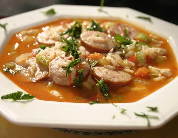 Recipe Chicken Jambalaya with Chili Garlic Sauce