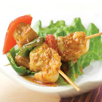 Recipe Chicken Skewers in Satay Sauce S