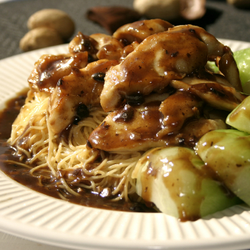 Recipe Chicken with Egg Noodles and Bok Choy S