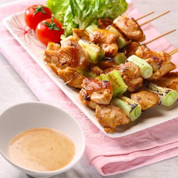 醬燒京蔥雞肉串
