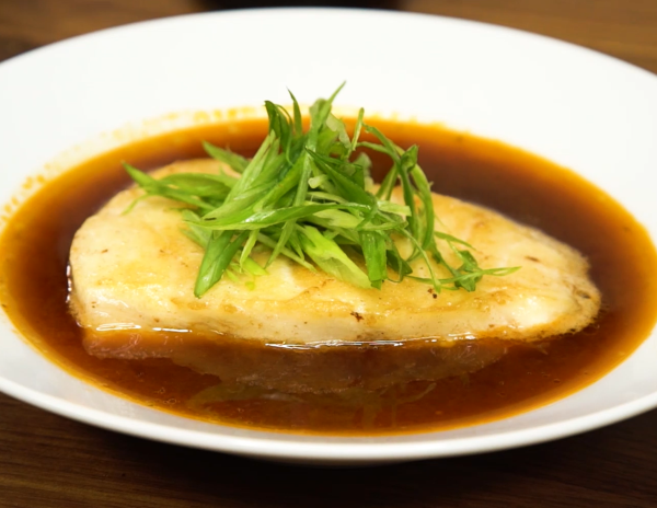 Sea Bass with Soy Broth