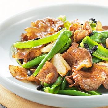 辣椒豆豉小炒肉