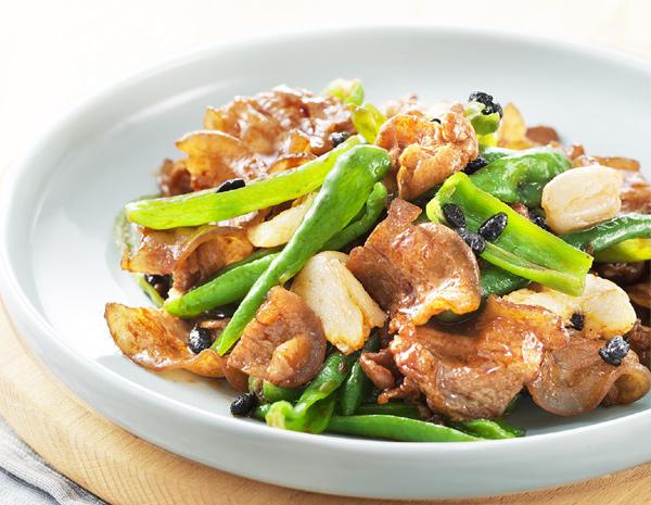 Recipe Chili Black Beans Fried Pork 2