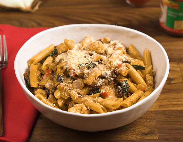 Recipe Chili Garlic Chicken Pasta
