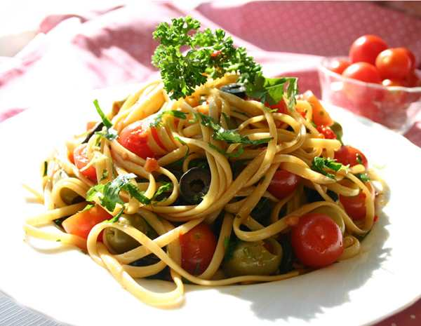 Recipe Chilled Pasta with Olives