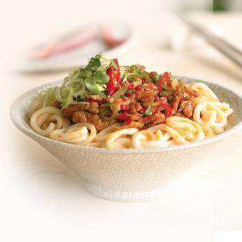 Recipe Chinese Noodle with Oyster Flavored Meat Sauce S
