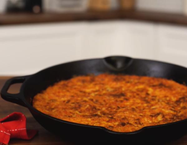 Recipe Chorizo Mushroom Frittata