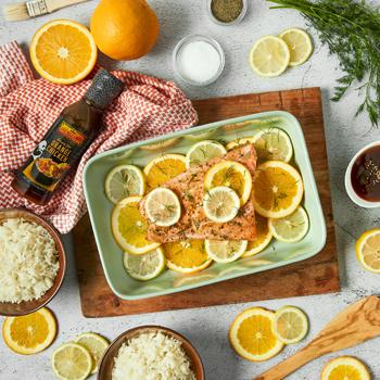 Recipe Citrus Glazed Salmon S