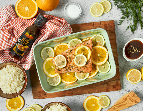 Recipe Citrus Glazed Salmon