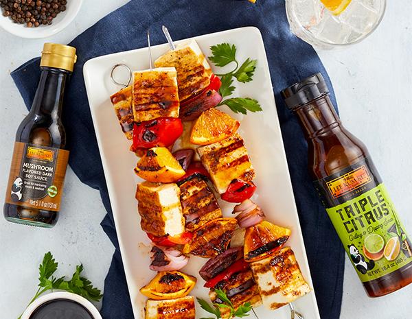 Recipe Citrus Tofu Kebabs