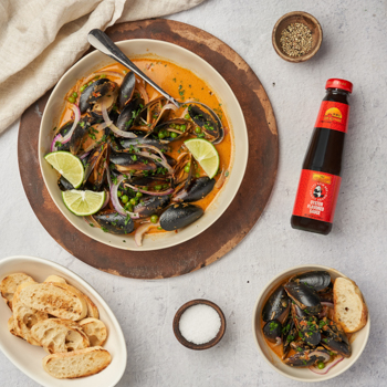 Recipe Coconut Curry Mussels S