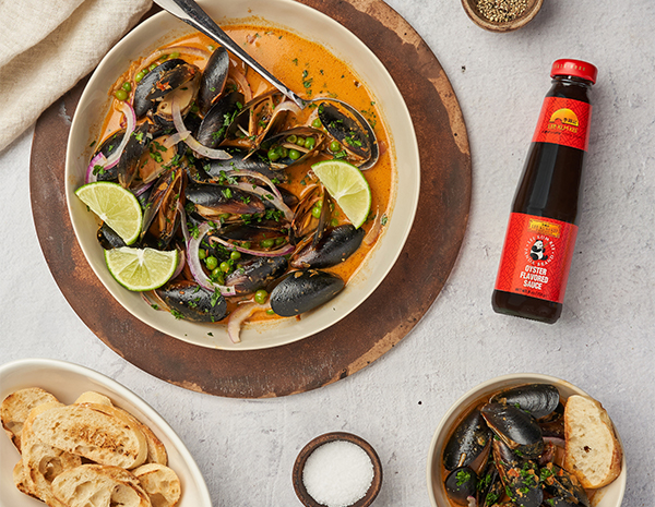 Recipe Coconut Curry Mussels