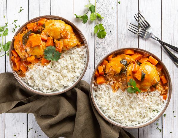 Recipe Coconut Thai Red Chicken Curry
